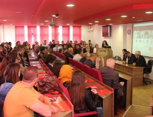 Održano uvodno predavanje za studente Edukacijskog fakulteta i Fakulteta za tehničke studije