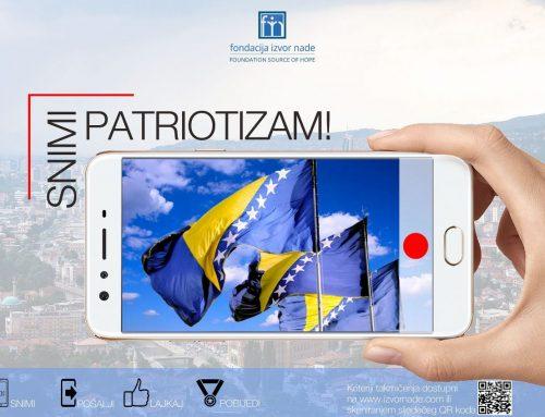 "Naši studenti u projektu ""Snimi patriotizam"""