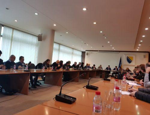 Sastanak koordinatora i učesnika  ERASMUS+ projekata u BiH, predstavnika vlasti i akademske zajednice