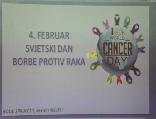 Održano predavanje povodom Svjetskog dana borbe protiv raka
