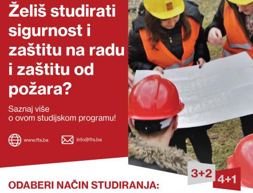 Predstavljamo studijski smjer Sigurnost i zaštita na radu i zaštita od požara