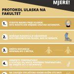 Uputstvo o epidemiološkim mjerama prilikom odbrane završnih radova