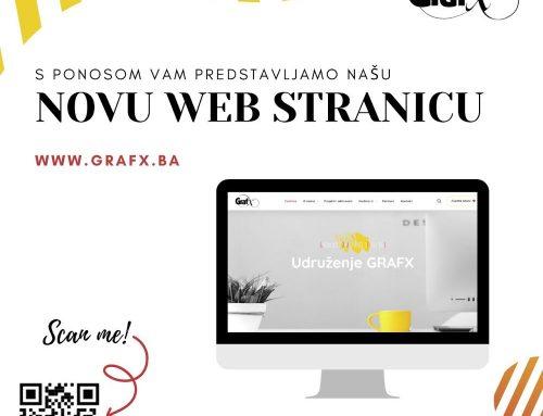 NOVI IZGLED WEB STRANICE PARTNERSKOG UDRUŽENJA GRAFX