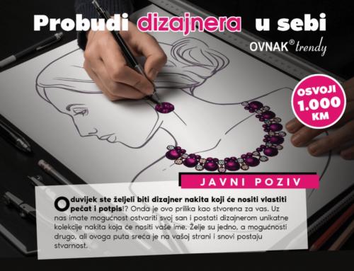 """""""PROBUDI DIZAJNERA U SEBI"""" – poziv i prilika za sve studente!"""